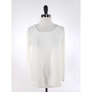 One September Rosanella Knit Lace Sweater